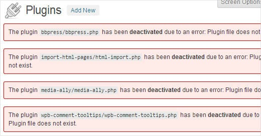 plugins-deactivated