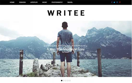 Writee-theme