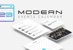 review modern events calendar