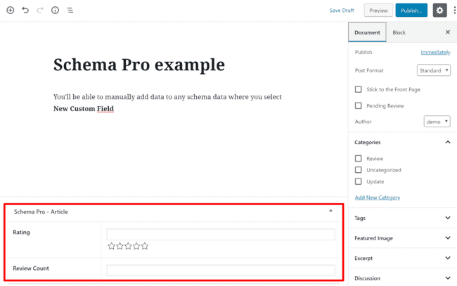 Schema-Pro-Article-Rating
